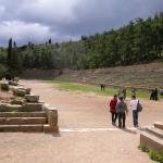 Lo stadio di Delfi