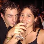 Milord e Flaminia bevono..